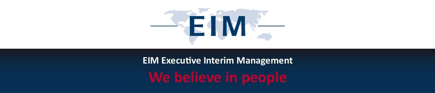 EIM Executive Interim Management. We believe in people.